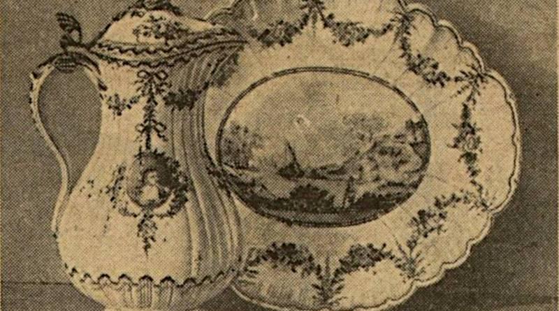 porcelaine en vente en 1929 extrait de l'Excelsior du 28 novembre 1929