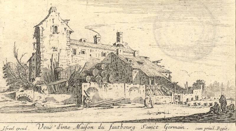 Vue d'une maison du faubourg Saint Germain - Numélyo