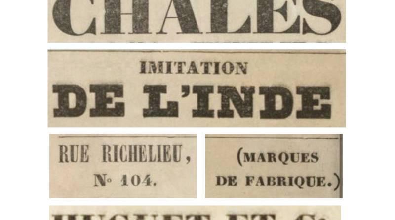 publicité pour la maison Huguet extrait du Charivari du 24 août 1848