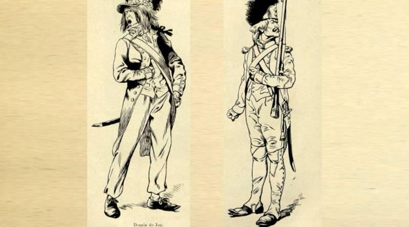 costumes extraits de la Tour d'Auvergne par Jon