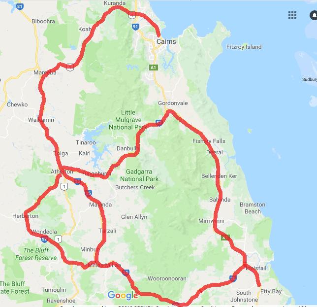 Road trips sud Mareeba