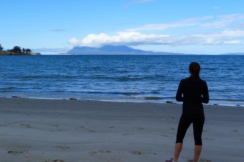 Road trip tasmanie plage
