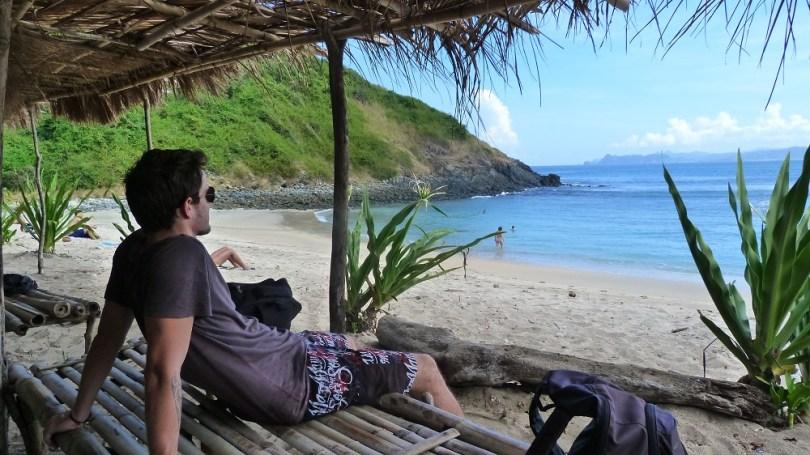 La plage de Mawi