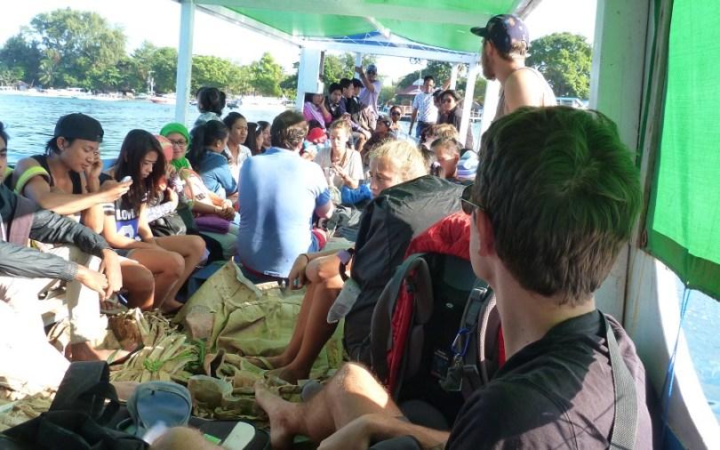 Le bateau nous ramène sur Lombok pour défier le Rinjani