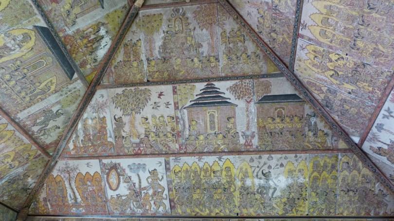 Les fresques du palais de justice de Klungkung