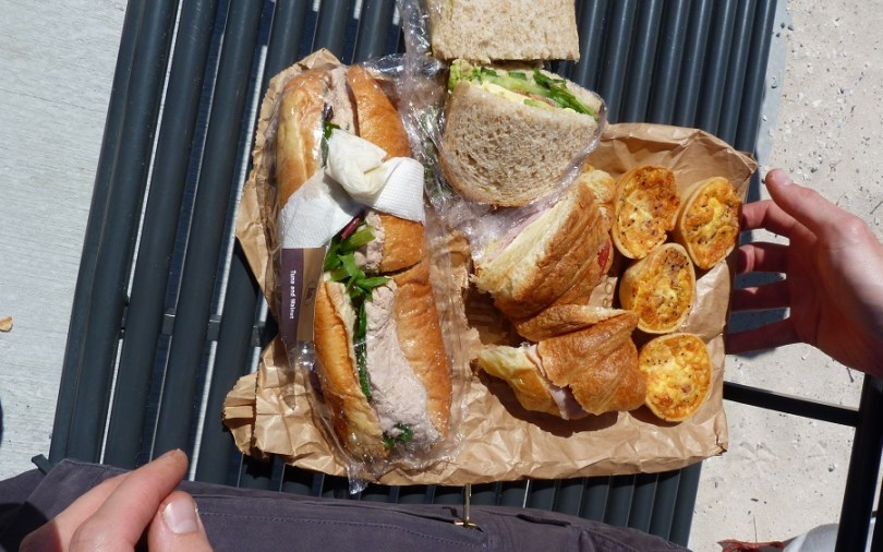 New Norcia Bakeries lunch