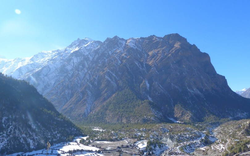 Nepal montagnes Annapurna