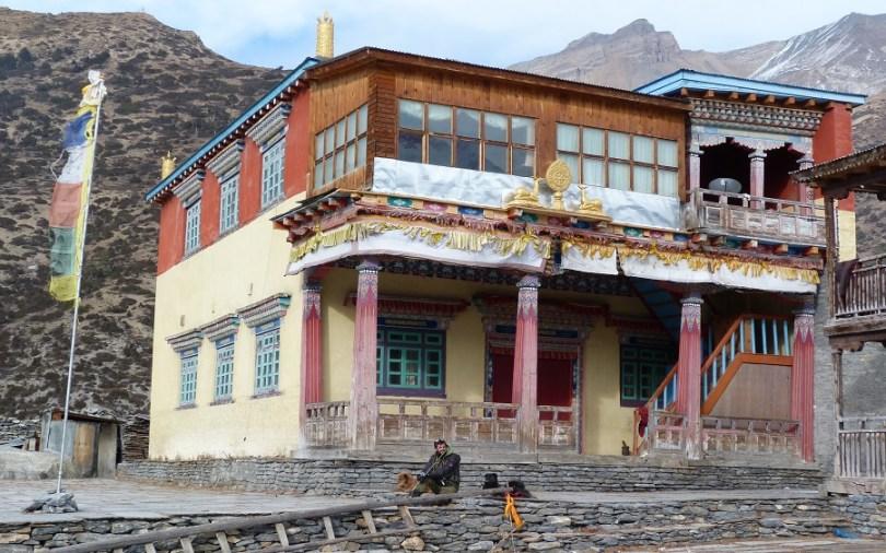 Annapurna temple bouddhiste