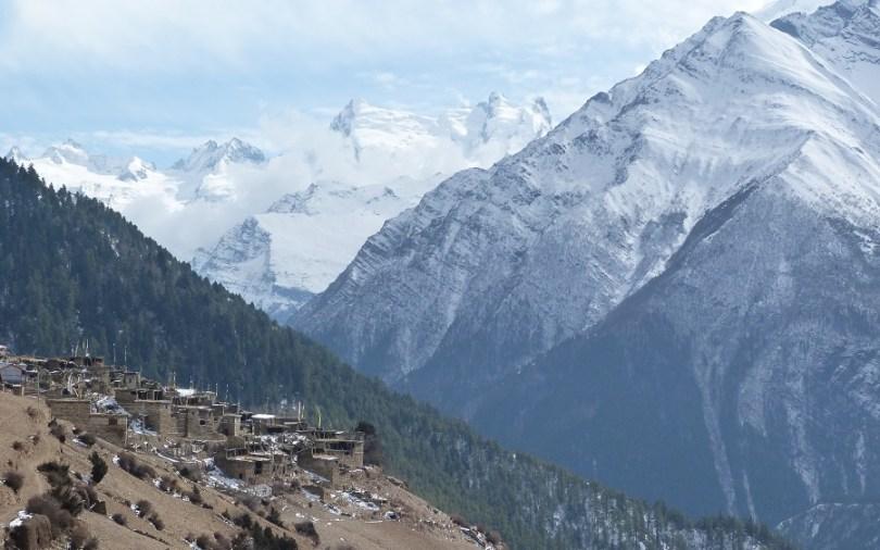 Annapurna village montagnes