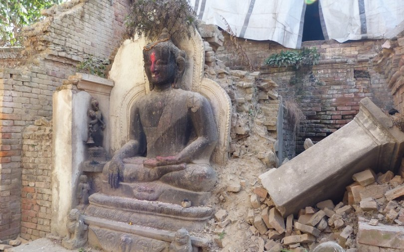 Bouddha Nepal Bahktapur