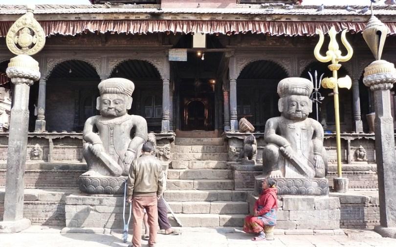 Entrée temple nepal bahktapur