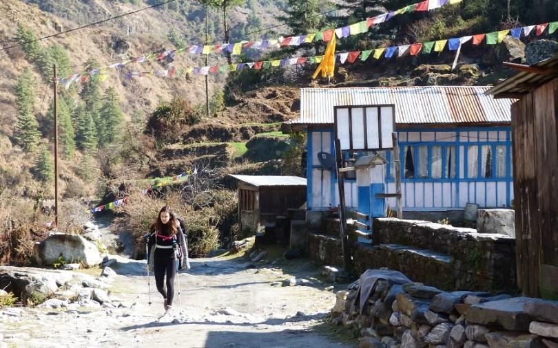 Annapurna : Marine arrive enfin au village
