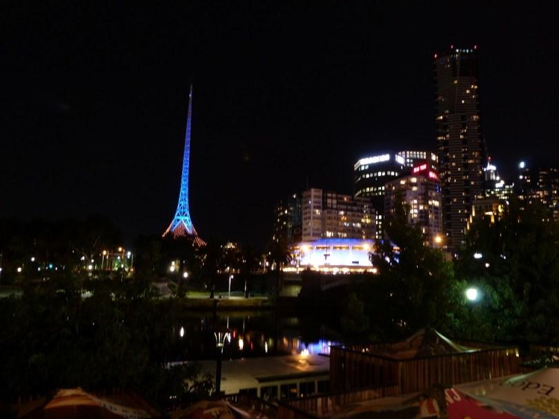 Melbourne nuit tour ville