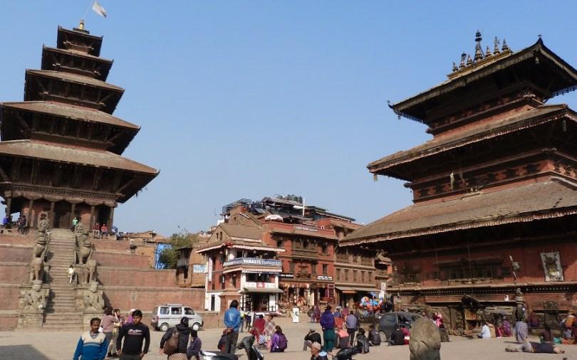 Temples Bahktapur Nepal