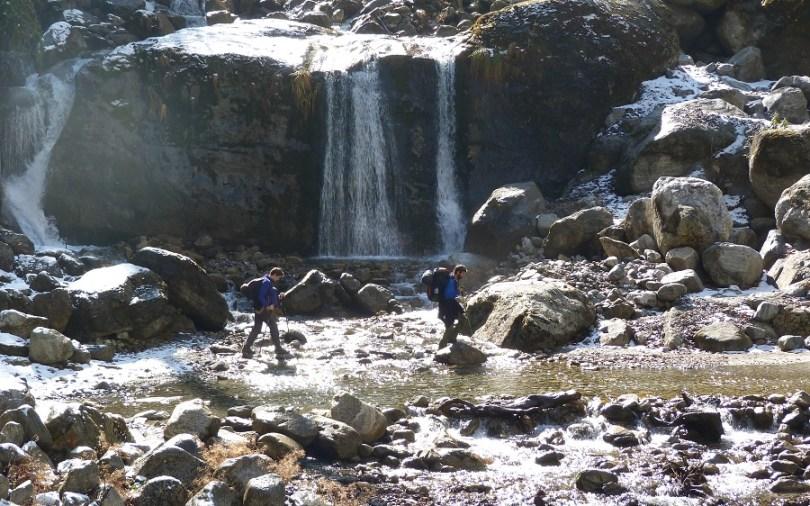 Annapurna : les cascades dégèlent et doivent être traversées