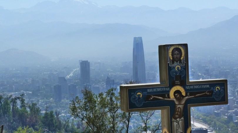 Chili Santiago Cerro San Cristobal
