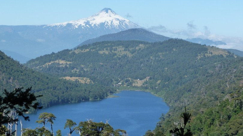 Huerquehue pucon Volcan villarrica
