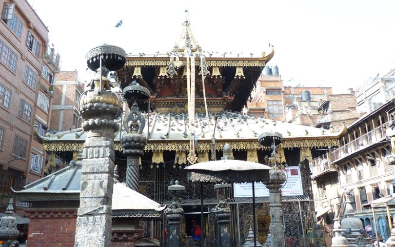 Katmandou temple sikha narayan