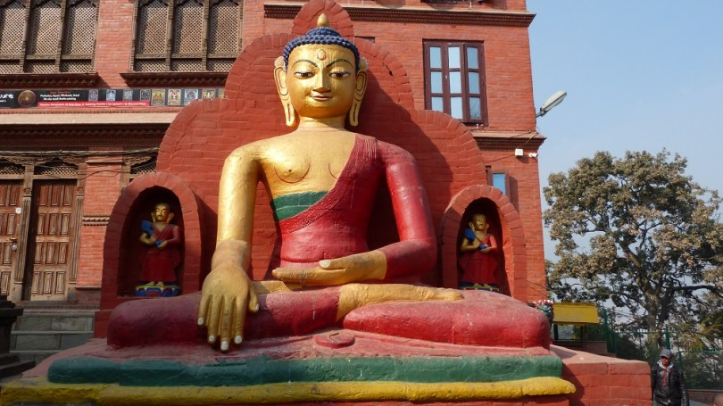 Nepal Swayambhunath bouddha