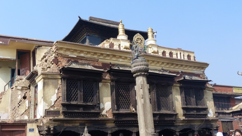 Nepal temple Swayambhunath