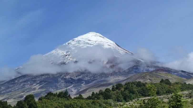 Osorno volcan petrohue chili