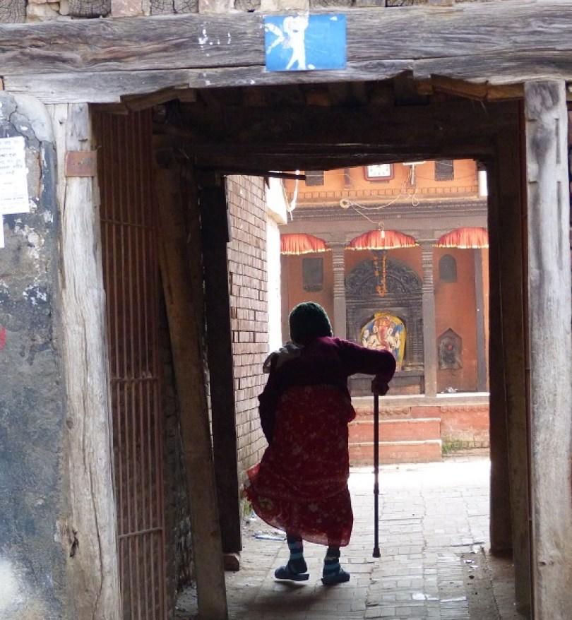 Patan grand-mere nepalaise