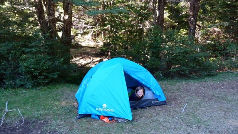 huerquehue tente camping