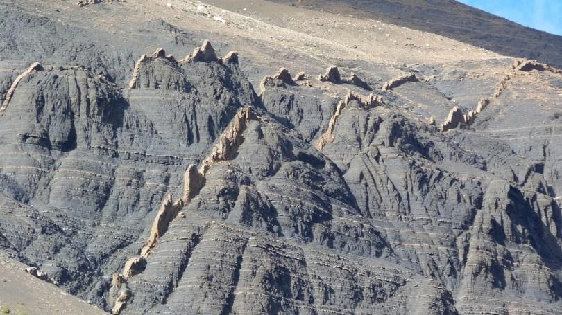 Montagnes crêtes