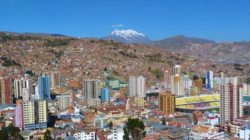 La Paz mirador kili kili