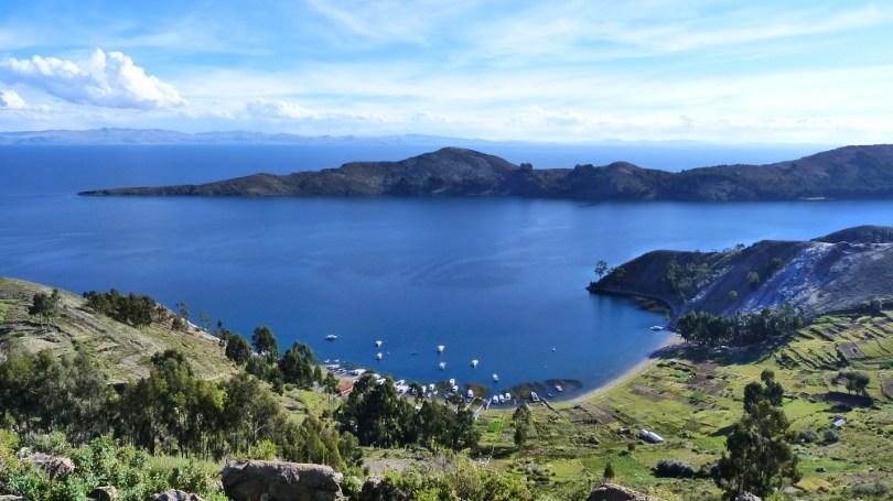 Vue panoramique isla del sol