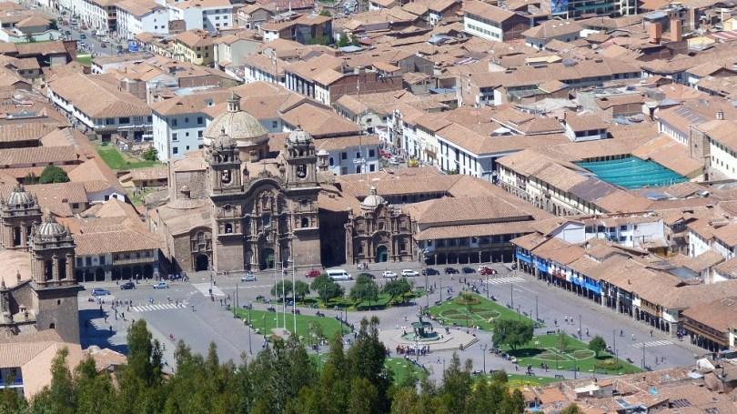 cuzco perou plaza di armas
