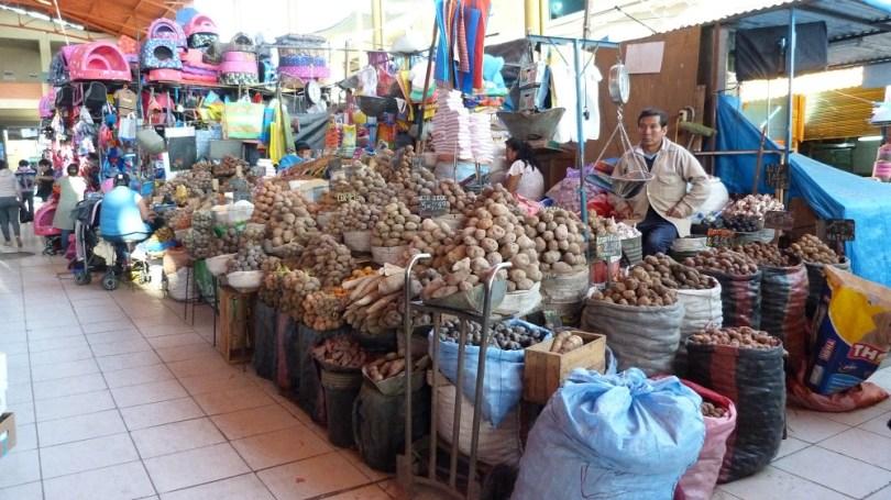 Arequipa Mercado Pommes de terre