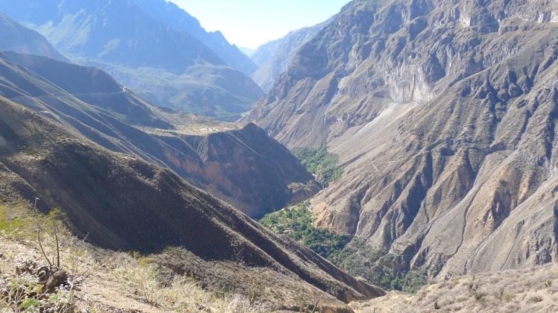 Canyon de colca riviere