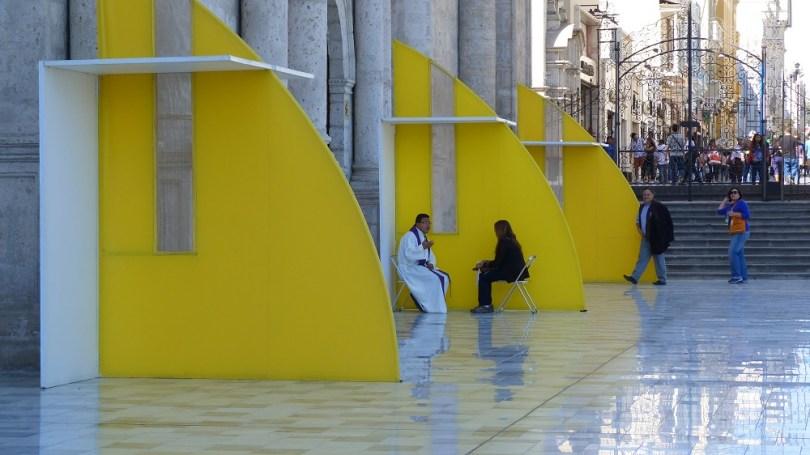 La Catedrale Arequipa confessions