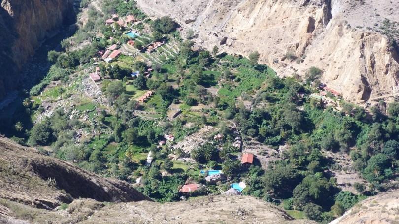 Sangalle Canyon de colca