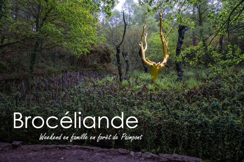 Broceliande weekend famille paimpont