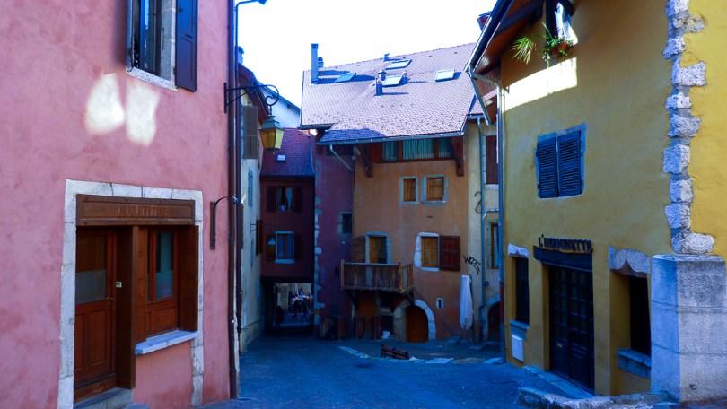 Annecy ruelle vieille ville