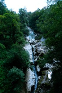 Annecy gorges du fier riviere