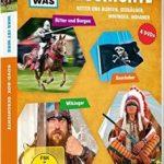 DVD: Was ist was: Geschichte - Ritter und Burgen, Seeräuber, Wikinger, Indianer