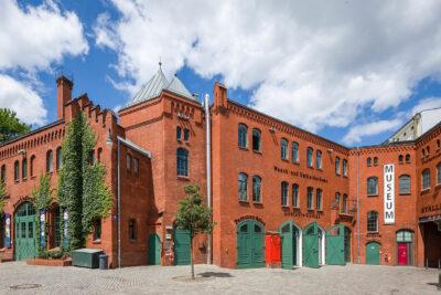 Außenansicht Museum in der Kulturbrauerei am Prenzlauer Berg