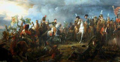 Napoleon bei der Schlacht von Austerlitz
