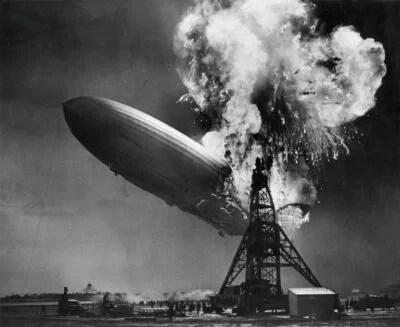 """06.05.1937: Die """"Hindenburg"""" verunglückt."""