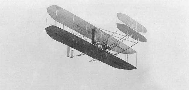 Hermanos Wright: Pieza del primer avión en Marte.