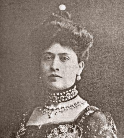Amada Díaz Quiñones la primogénita de Porfirio Díaz
