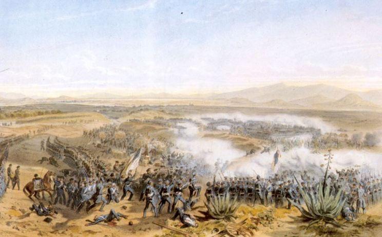 20 agosto 1847 Los estadounidenses derrotan a los mexicanos