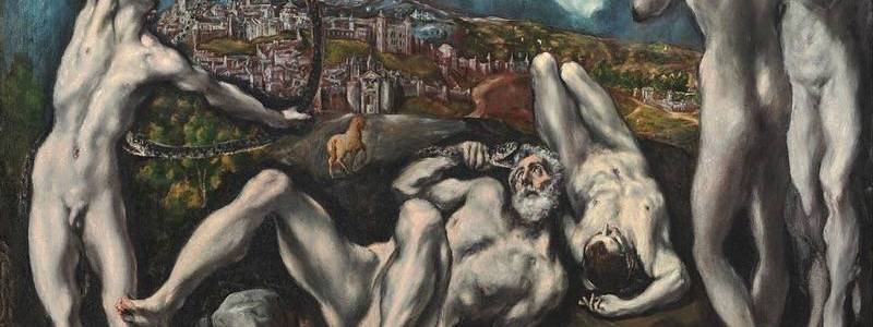 Laocoonte, El Greco
