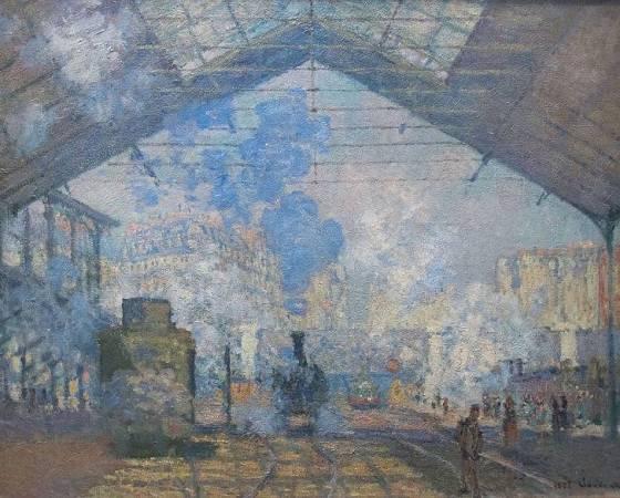 A Estação de Saint-Lazare, Claude Monet