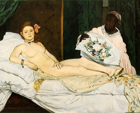Olympia, Édouard Manet