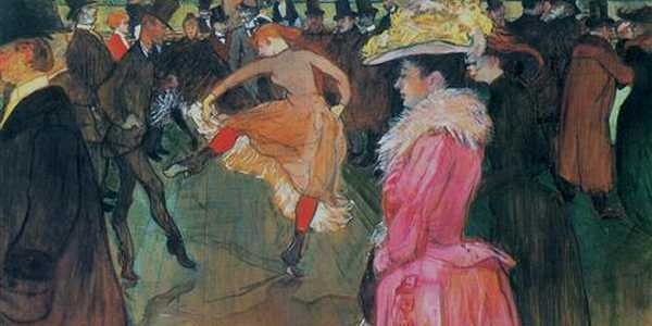 Baile no Moulin Rouge, Toulouse-Lautrec