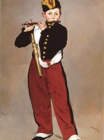 O Tocador de Pífaro, Édouard Manet